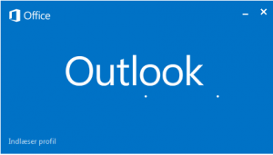 Outlook 2013 Stuck Loading profile1